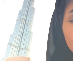 Dubai and hijab image