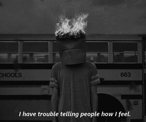 quotes, sad, and feelings image