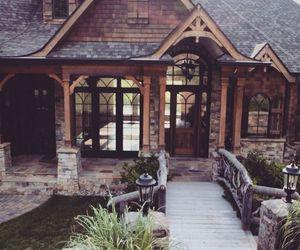big, house, and windows image