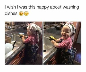 funny, baby, and happy image