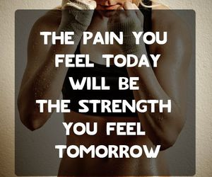 strength, fitness, and pain image