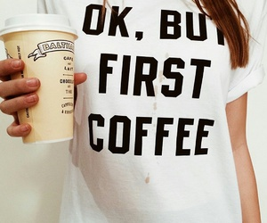 coffee, fashion, and quotes image