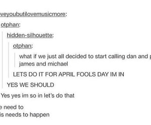 tumblr, dan and phil, and danisnotonfire image