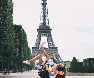 paris, friends, and bff image