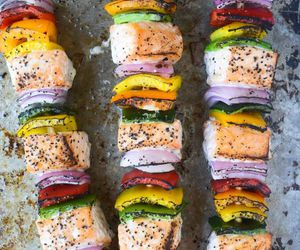 barbecue, beautiful, and rainbow image