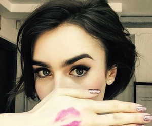 lily collins, pretty, and beautiful image