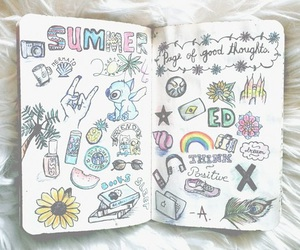 colors, drawing, and wreck this journal image