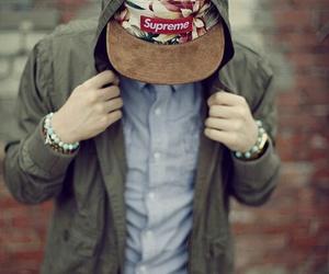 boy, supreme, and style image