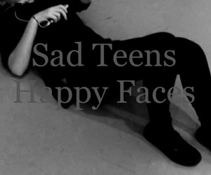 sad teens happy faces image