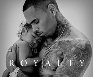 chris brown, royalty, and album image