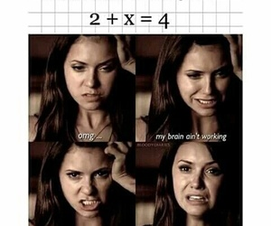 funny, tvd, and math image