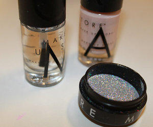 glitter, luxury, and make up image