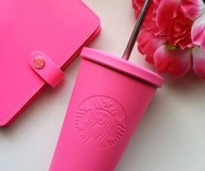 starbucks and pink image