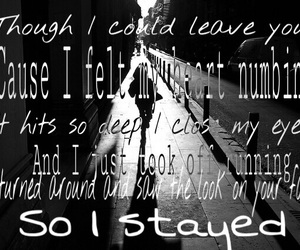 black and white, Lyrics, and music image