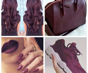 arab, bag, and cheveux image