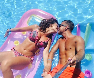 couple, goal, and piscine image