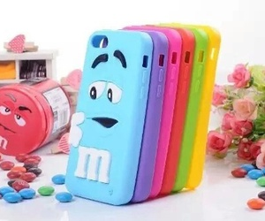 m&m, iphone cases, and funny image