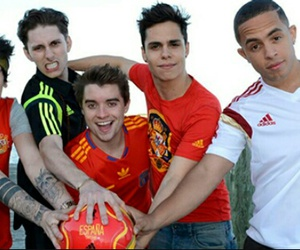 boyband, midnight red, and spain image