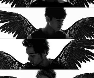 5sos, angel, and luke hemmings image