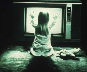 poltergeist, tv, and horror image