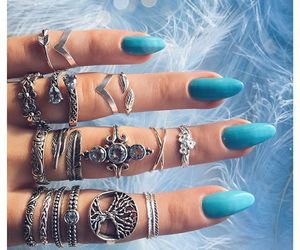 accessories, nails, and rings image