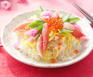 asian, crab, and food image