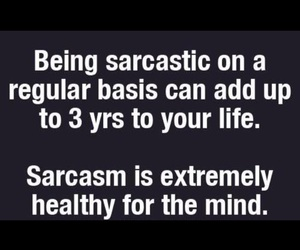 funny, sarcasm, and sarcastic image