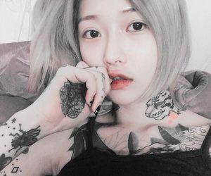 ulzzang, asian girl, and korean image