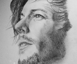 art, artist, and pencil drawing image