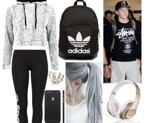 Polyvore and 1d image