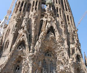 Barcelona, Sagrada Familia, and archtecture image