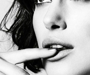keira knightley, black and white, and beauty image