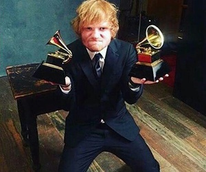 ed sheeran, grammy, and ed image