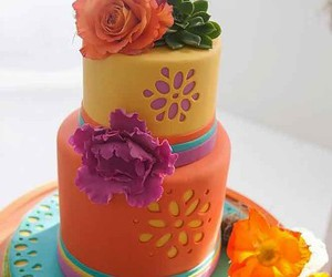 mexican wedding cake image
