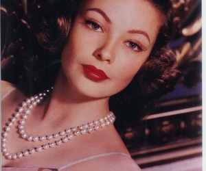 Gene Tierney, vintage, and beautiful image