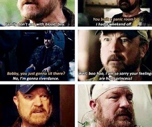 supernatural, bobby singer, and spn image