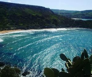 beach, Island, and malta image
