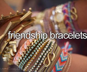 bracelet, friendship, and friends image