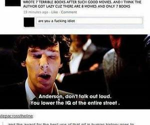 funny, harry potter, and sherlock image