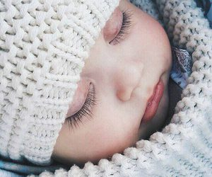 baby, sleep, and cute image