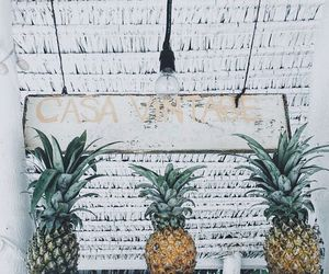 pineapple, summer, and delicious image