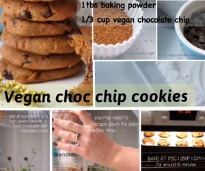 chocolate, cookie, and healthy image