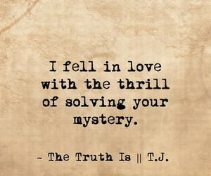 thrill, wonders, and fell in love image