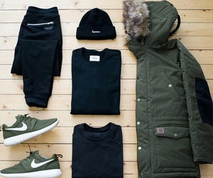 clothes, nike, and wear image