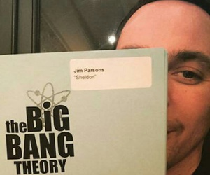 the big bang theory, jim parsons, and sheldon cooper image