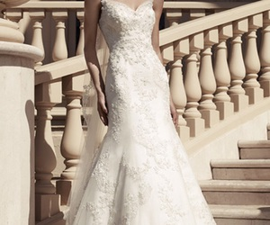fashion, wedding dress, and bridal gowns image