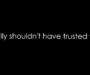 mistake, trust, and broken promises image