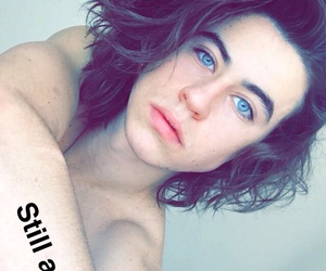 nash grier, blue eyes, and boy image