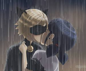 kiss, marichat, and ladybug x cat noir image