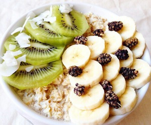 healthy, fruit, and banana image